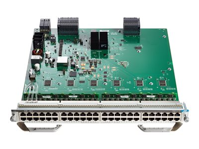 Cisco Catalyst 9400 Series Line Card - switch - 48 ports - plug-in module  (pack of 2 )
