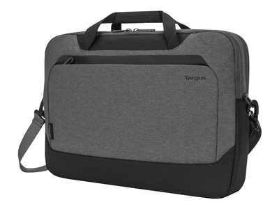 Targus Cypress Briefcase with EcoSmart Notebook carrying case 15.6INCH gray