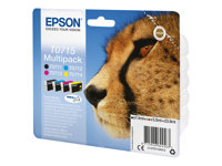 Epson Ink/T0715 Cheetah 4x5.5ml CMYK, Ink/T0715 Cheetah 4x5.5ml CMYK
