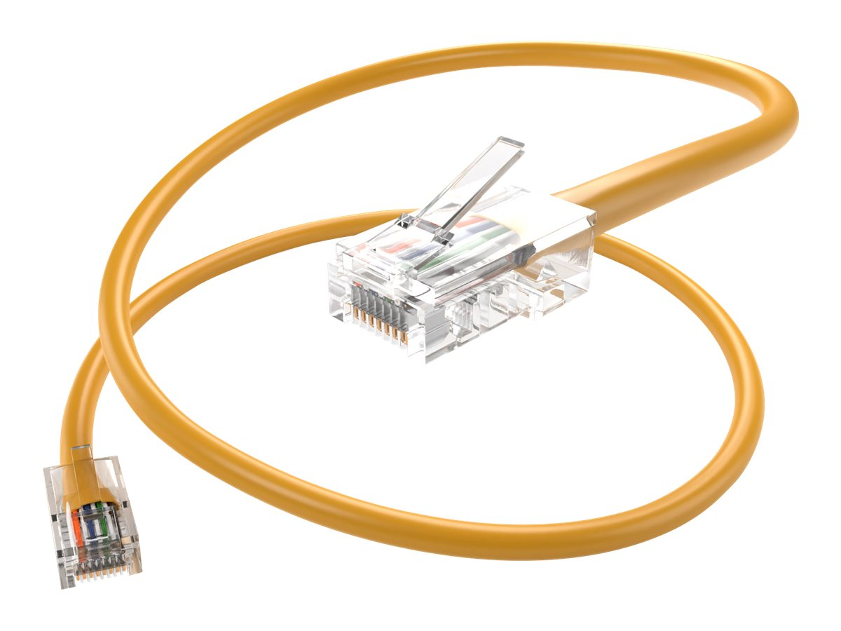 Unirise Core patch cable - 1.83 m - yellow