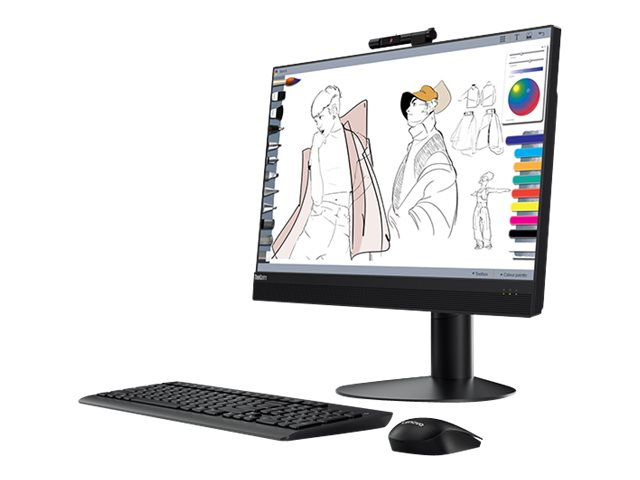 """Lenovo ThinkCentre M920z - all-in-one - Core i5 8500 3 GHz - 4 GB - HDD 500 GB - LED 23.8"""" - US"""