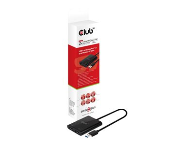 Club 3D USB to DisplayPort 1.2 Dual Monitor 4K60Hz