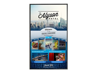 Planar EP5814K-T 58INCH Class EP-Series LED display digital signage / interactive communication