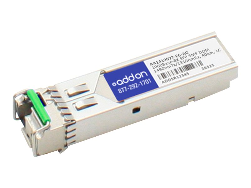 AddOn Avaya AA1419077-E6 Compatible SFP Transceiver - SFP (mini-GBIC) transceiver module - GigE