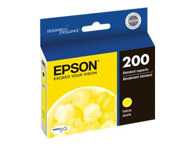 Epson 200 With Sensor Yellow original ink cartridge