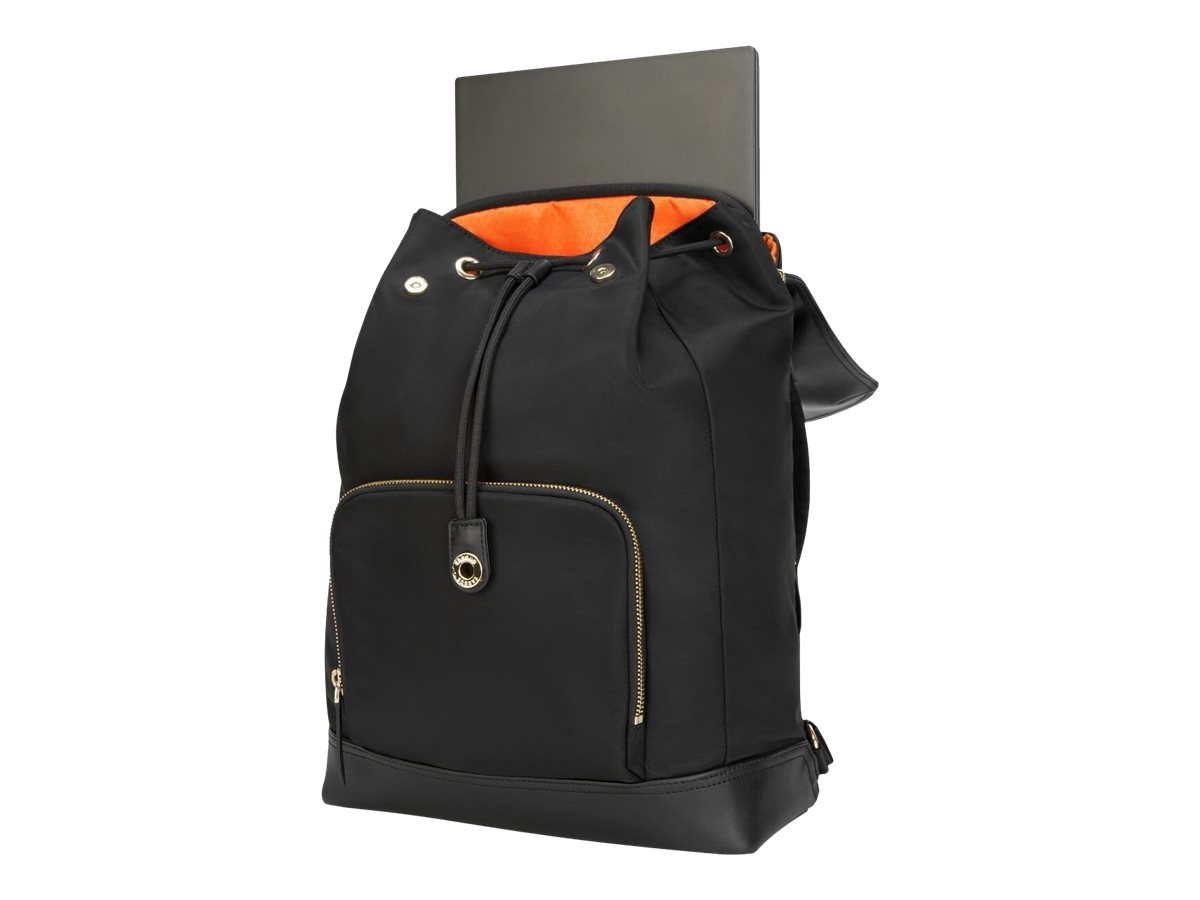 Targus Newport Drawstring notebook carrying backpack
