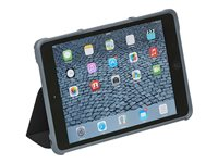 STM dux Flip cover for tablet polycarbonate, thermoplastic polyurethane (TPU) black