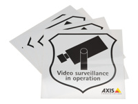 AXIS Surveillance Sticker - Stickers (pack of 50 )