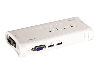 TRENDnet TK 407K KVM switch Desktop