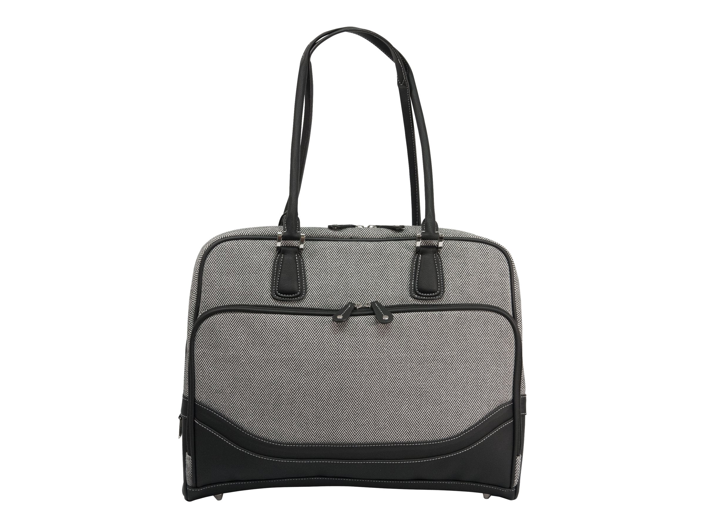 """Mobile Edge Classic Herringbone 15.6"""" to 16"""" Laptop & Tablet Tote notebook carrying case"""