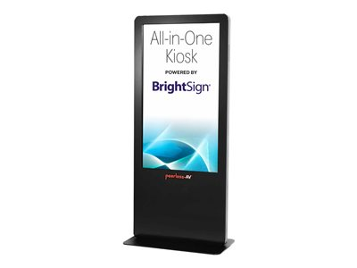 Peerless-AV All-in-One Kiosk Powered by BrightSign 55INCH Class LCD flat panel display