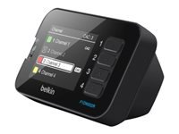 Picture of Belkin Advanced Secure LCD Desktop Controller for KVM - KVM switch remote control (F1DN002R)