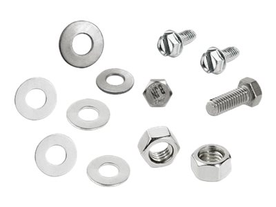 Panduit rack screws, nuts and washers