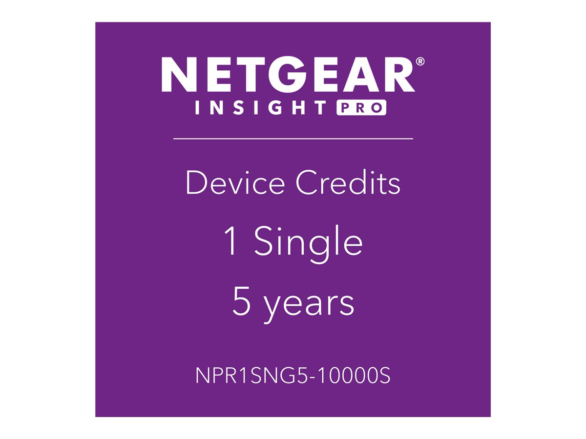 NETGEAR Insight Pro - subscription license (5 years) - 1 managed device