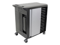 Dell Network Ready Charging Cart CT30N181 - Cart (charge only) for 30 notebooks - lockable - screen size: 15.6