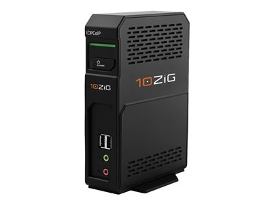 10ZiG V1200-QP Zero client DTS 1 x Tera2140 no HDD GigE monitor: none