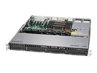 Supermicro SuperServer 5018R-MR Server rack-mountable 1U 1-way no CPU RAM 0 GB SATA