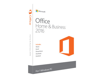 Microsoft Office Home and Business 2016 Licens 1 PC Windows