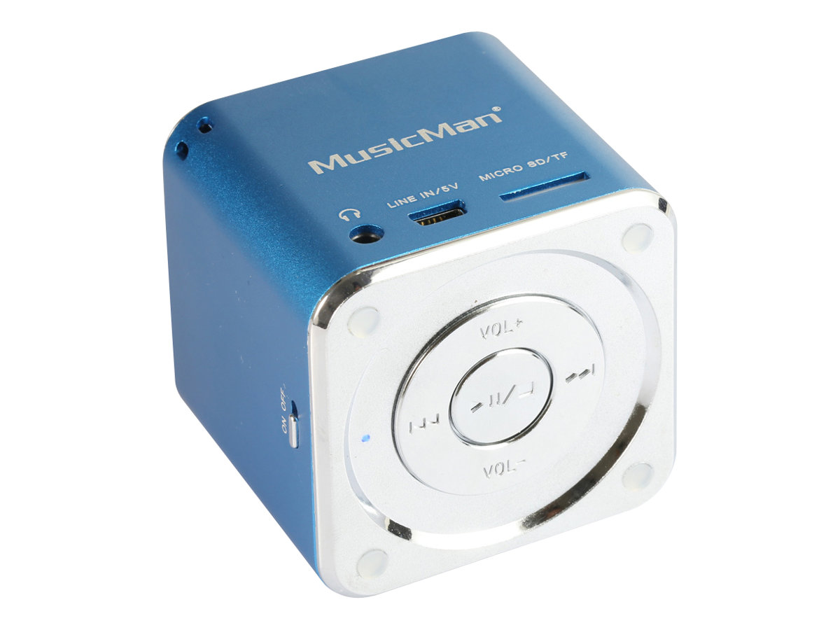 Technaxx MusicMan Mini - Digital Player - Blau