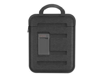Higher Ground Capsule Notebook carrying case 11INCH gray with shoulder str