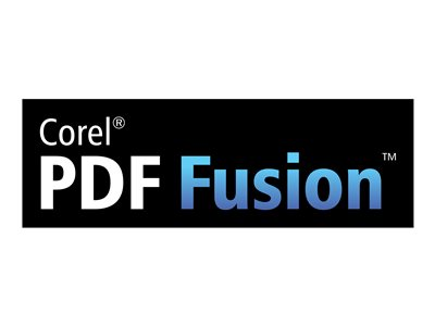 Corel PDF Fusion (v. 1) - license - 1 user