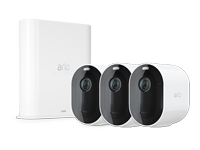 Picture of Arlo Pro 3 Wire-Free Security Camera System - gateway + camera(s) - wireless (VMS4340P-100EUS)