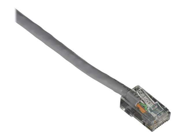Black Box GigaTrue CAT6 Channel 550-MHz Patch Cable with Basic Connector - patch cable - 2.1 m - gray