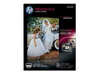 HP Premium Plus - Soft-glossy - 11.5 mil - Letter A Size (8.5 in x 11 in) - 300 g/m² - 80 lbs - 50 sheet(s) photo paper - for Envy 50XX, 76XX; Officejet 52XX; PageWide Pro 477; Photosmart B110, Wireless B110