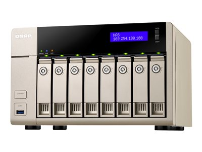 QNAP TVS-863+ Turbo NAS NAS server 8 bays SATA 6Gb/s