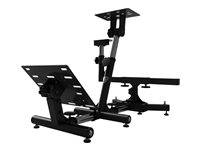 Arozzi Velocità Gaming chair wheel/pedals stand metal black