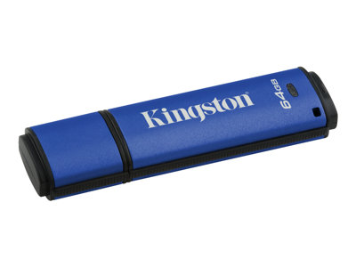 Kingston DataTraveler Vault Privacy 3.0 - USB flash drive - 64 GB