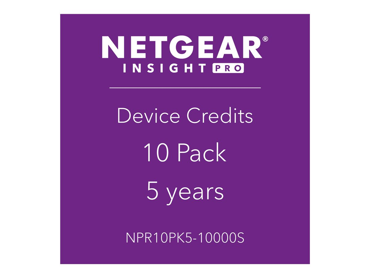 NETGEAR Insight Pro - subscription license (5 years) - 10 managed devices