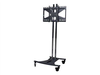 Premier Mounts EBC60-MS2 Cart for LCD / plasma panel black, polished chrome