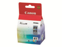 Picture of Canon CL-41 - High Yield - colour (cyan, magenta, yellow) - original - ink cartridge (0617B001)