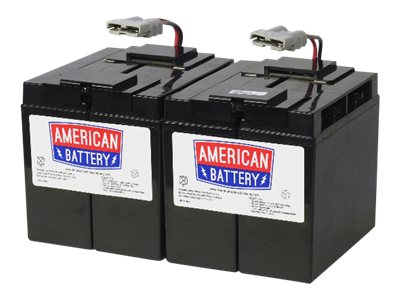 ABC RBC55 UPS battery 4 x lead acid 8 Ah