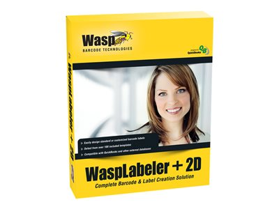 WaspLabeler +2D Box pack 10 users Win