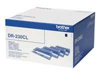 Brother DR 230CL Sort Gul Cyan Magenta 15000 sider