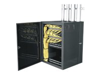 Middle Atlantic CWR Series CableSafe Data Wall Cabinet CWR-18-22PD Cabinet wall mountable