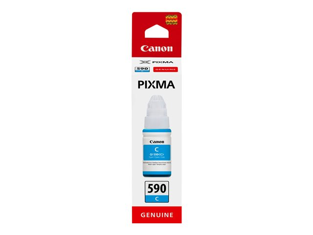 Image of Canon GI 590 C - cyan - original - ink refill
