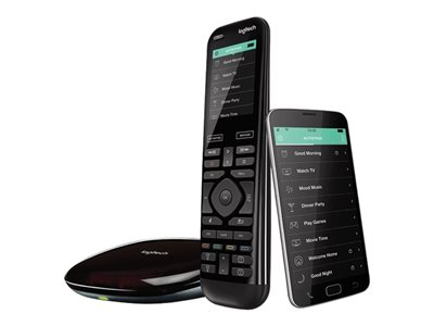 Logitech Harmony Elite - Universal fjernstyring - display - LCD - 2.4 tommer - infrarød