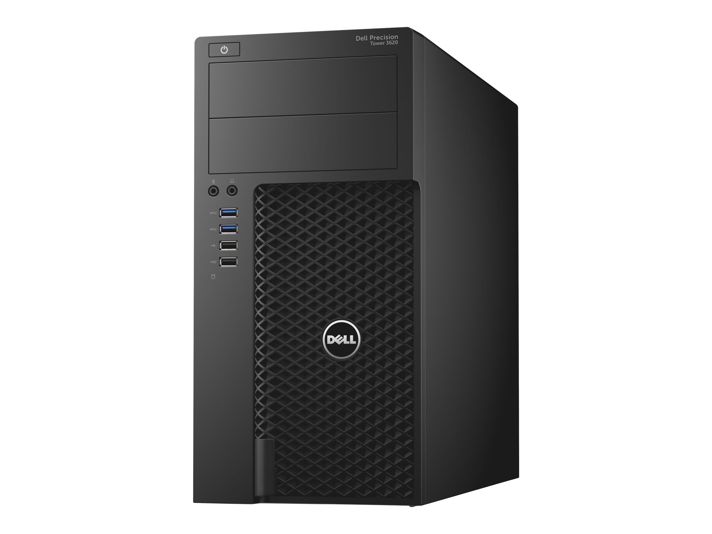 Dell Precision Tower 3620 - MT - 1 x Core i7 6700 / 3.4 GHz - RAM 16 GB - HDD 1 TB - DVD-Writer