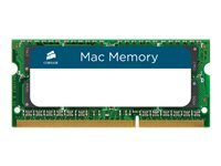 CORSAIR Mac Memory DDR3  kit 1333MHz CL9  Ikke-ECC SO-DIMM  204-PIN