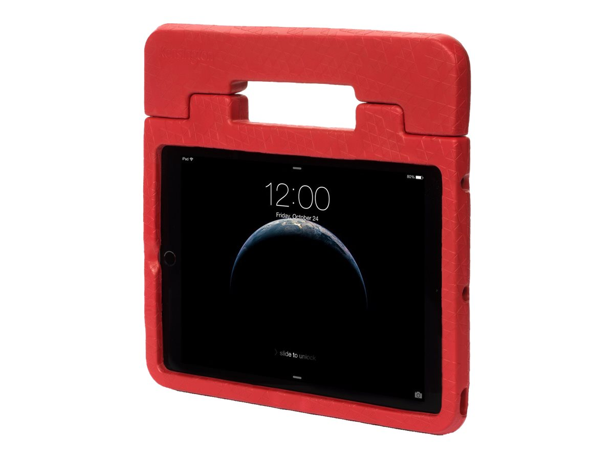 Kensington SafeGrip Rugged Case & Stand - Hintere Abdeckung für Tablet - Rot - für Apple iPad Air 2