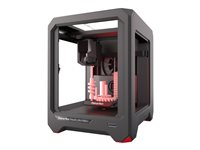 MakerBot Replicator Mini+ 3D printer FDM build size up to 4.96 in x 4.96 in x 3.98 in