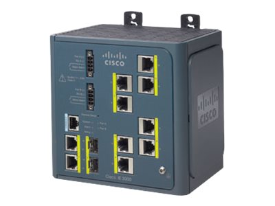 Cisco Industrial Ethernet 3000 Series - switch - 8 ports - managed