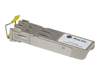 ProLabs GLC-SX-MMD-C - SFP (mini-GBIC) transceiver module - Gigabit Ethernet, Fibre Channel - 1000Base-SX, Fibre Channel - LC multi-mode - up to 550 m - 850 nm - for Cisco 38XX; Catalyst 29XX, 3560, 3750; Catalyst Express 500; Supervisor Engine II-Plus-TS