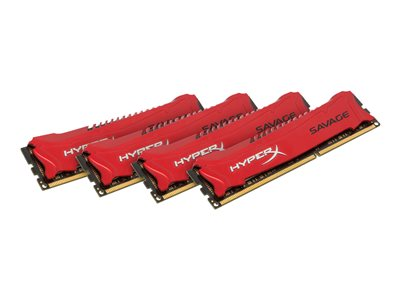 HyperX Savage - DDR3 - 32 GB: 4 x 8 GB - DIMM a 240 pin