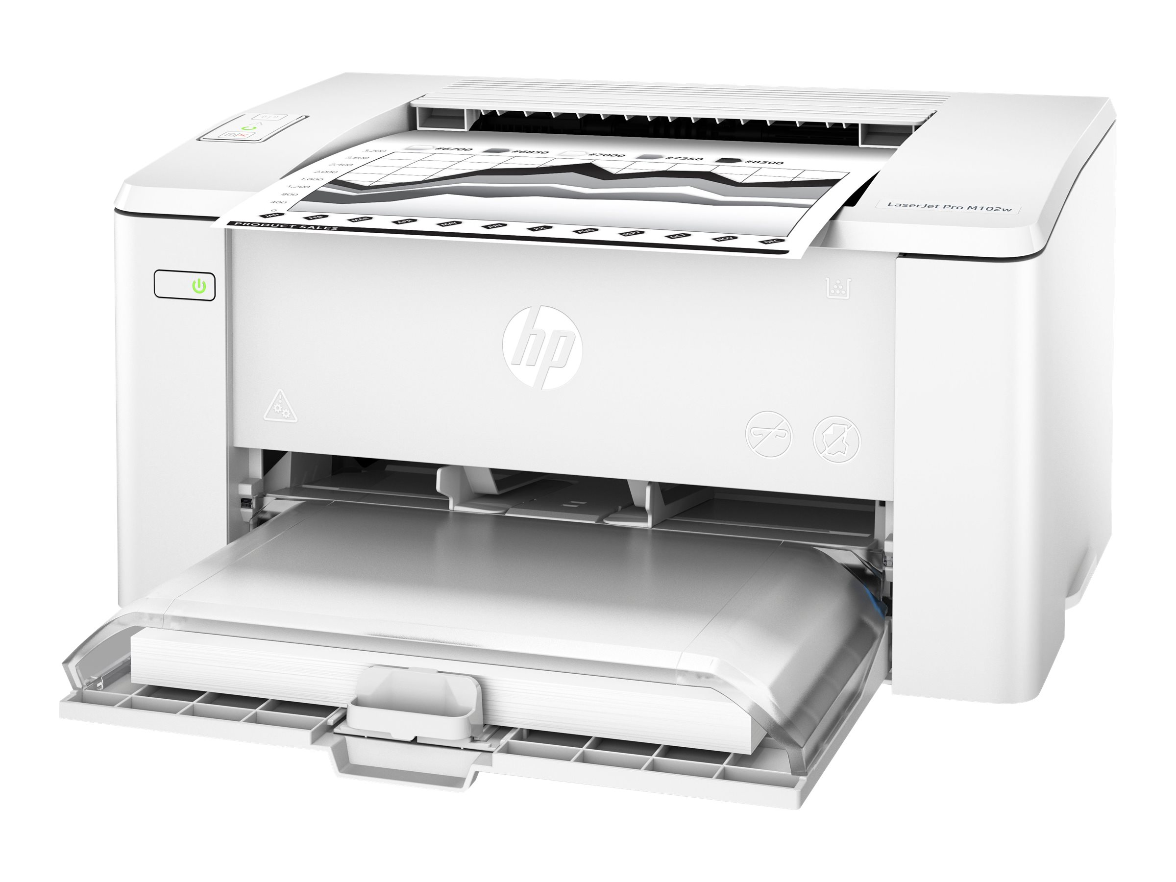 HP LaserJet Pro M102w - printer - B/W - laser