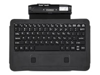 Zebra Companion - Keyboard - with touchpad - backlit - dock - UK - for XPAD L10; XSLATE L10