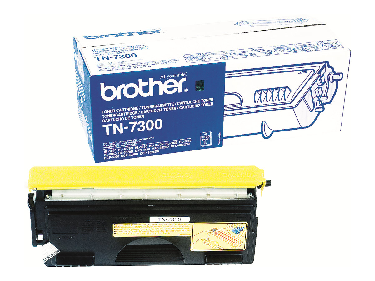 Brother TN7300 - Schwarz - Original - Tonerpatrone - für Brother DCP-8020, 8025, HL-1670, 1850, 1870, 5030, 5040, 5050, 5070, MFC-8420, 8820